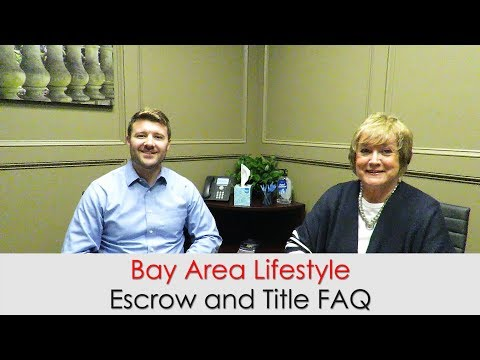 Escrow and Title FAQ