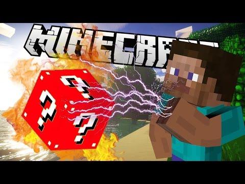 Minecraft mody! NOWE LUCKY BLOCKI! | RED/BLUE LUCKY BLOCK MOD