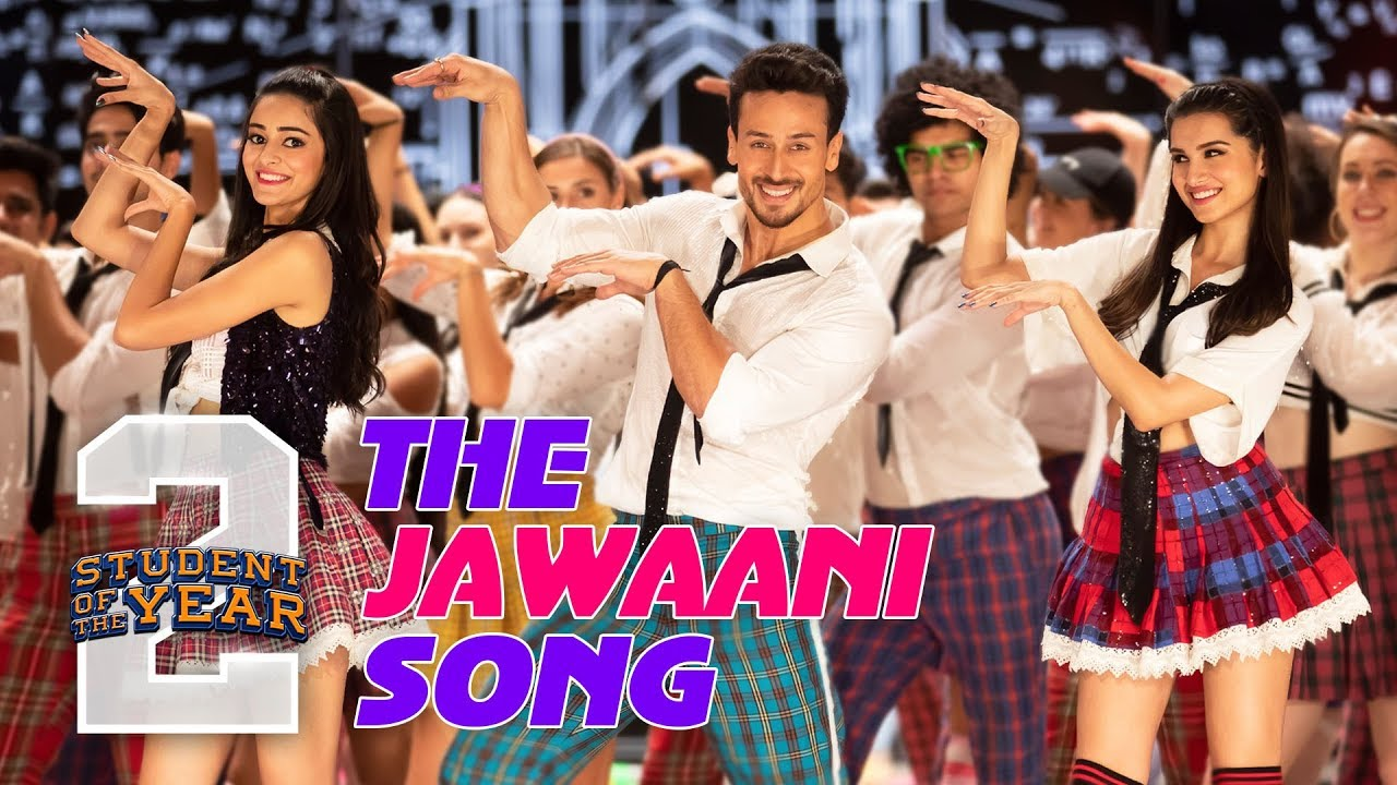 Download The Jawaani Song - SOTY2 | Tiger Shroff, Tara, Ananya | Vishal & Shekhar | RD Burman