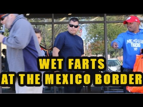 THE DAILY SHART WET FART PRANK AT THE BORDER WITH THE SHARTER
