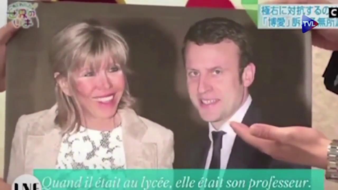 Emmanuel Macron Reaction Outree D Asiatique Devant L Ecart D Age De Sa Femme