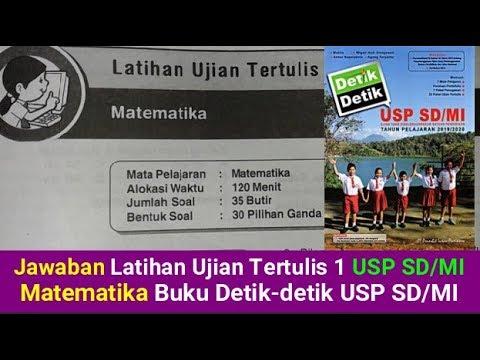 Latihan Ujian Tertulis 4 Bahasa Indonesia Buku Detik Detik Usp Sd Mi Cute766