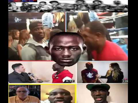 TERENCE CRAWFORD AND DISRESPECT TOWARDS BLACK YOUTUBE MEDIA WHO SUPPORT HIM