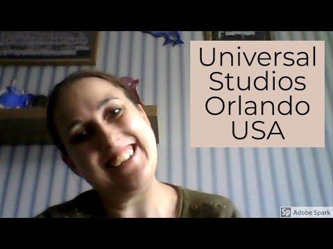 Travel Vlog North America Florida Orlando Universal Studios My Holiday Review