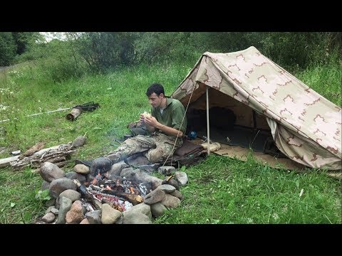 SOLO 2 NIGHTS UNDER CANVAS AND CATCH AND COOK