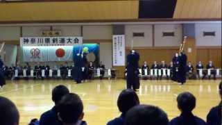 神奈川県警察剣道特練の基本稽古風景(KanagawaPoliceKendo2011) thumbnail