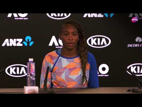 2018 Australian Open Press Conference: Venus Williams defeated by Belinda Bencic