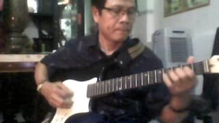guitar cổ Hoà tấu bài bến sông chờ
