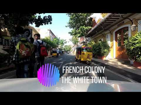 Pondicherry - Must Watch before you visit - Beautiful French Colony - Rock Beach Time Lapse