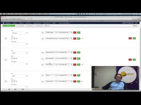 CB 2.0 Tutorials - 04 - User Lists and Joomla Menus