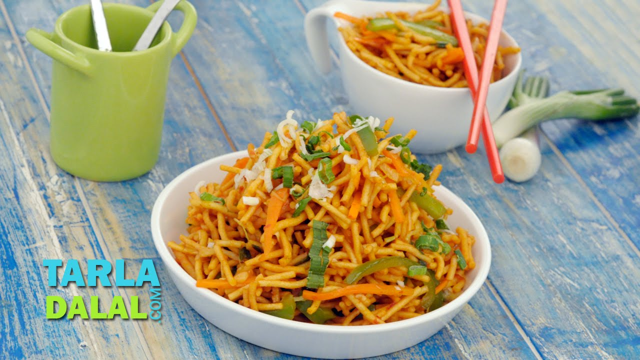 Chinese bhel by tarla dalal youtube forumfinder Gallery