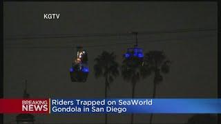 Riders Trapped On SeaWorld Gondolas In San Diego