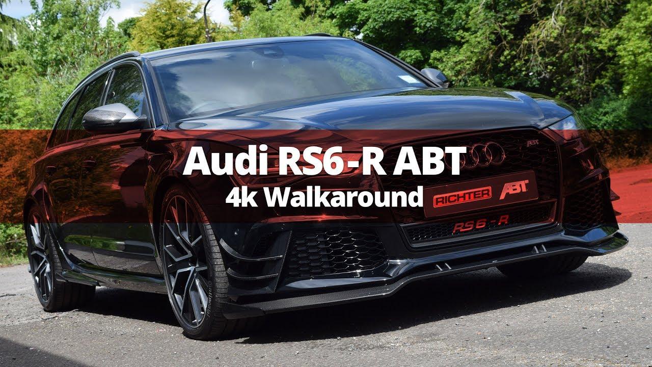 Audi Rs6 R Abt 730bhp Walkaround Audi Modification Youtube