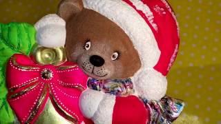 DIY pinta oso de cerámicas terciopelo foil Pint christmas ceramics