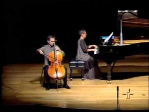 Maria João Pires e Pavel Gomziakov   Etude Op 25, No 7 de Chopin arranjo de Aleksandr Glazunov