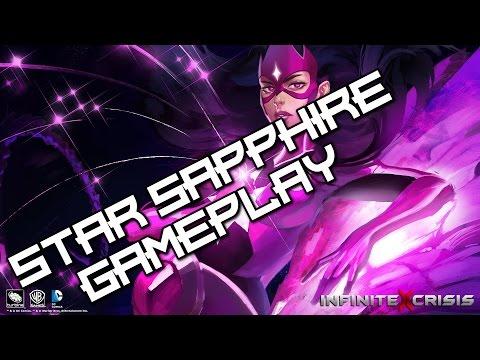 Infinite Crisis Gameplay #04 - Star Sapphire - Game is hard