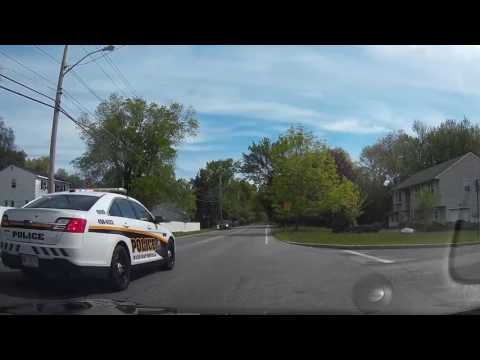 Guy passes me in a school zone in front of the cops. (skip to 20s)
