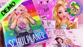 Kits dos livros de colorir da TOPMODEL da Depesche | Calendário escolar e agenda 2018/2019