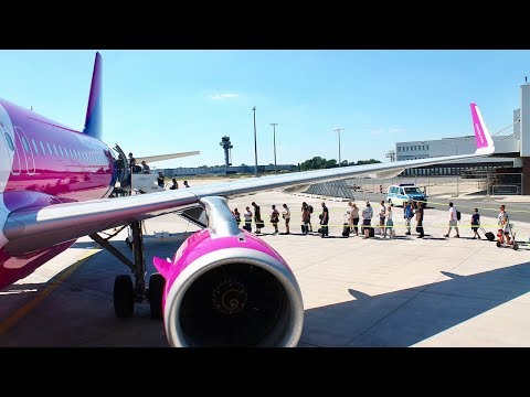 [Tripreport] Hannover - Budapest ✈ WIZZ Air Airbus A320 sharklets