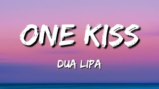 One kiss Dua Lipa Lyrics (One kiss is all it takes Fallin' in love with me)