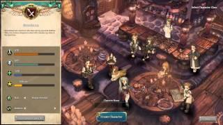 Tree of Savior Global Beta 1 - Character creation