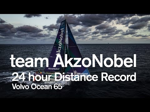 team AkzoNobel - Volvo Ocean 65 24-hour Distance Record | Volvo Ocean Race