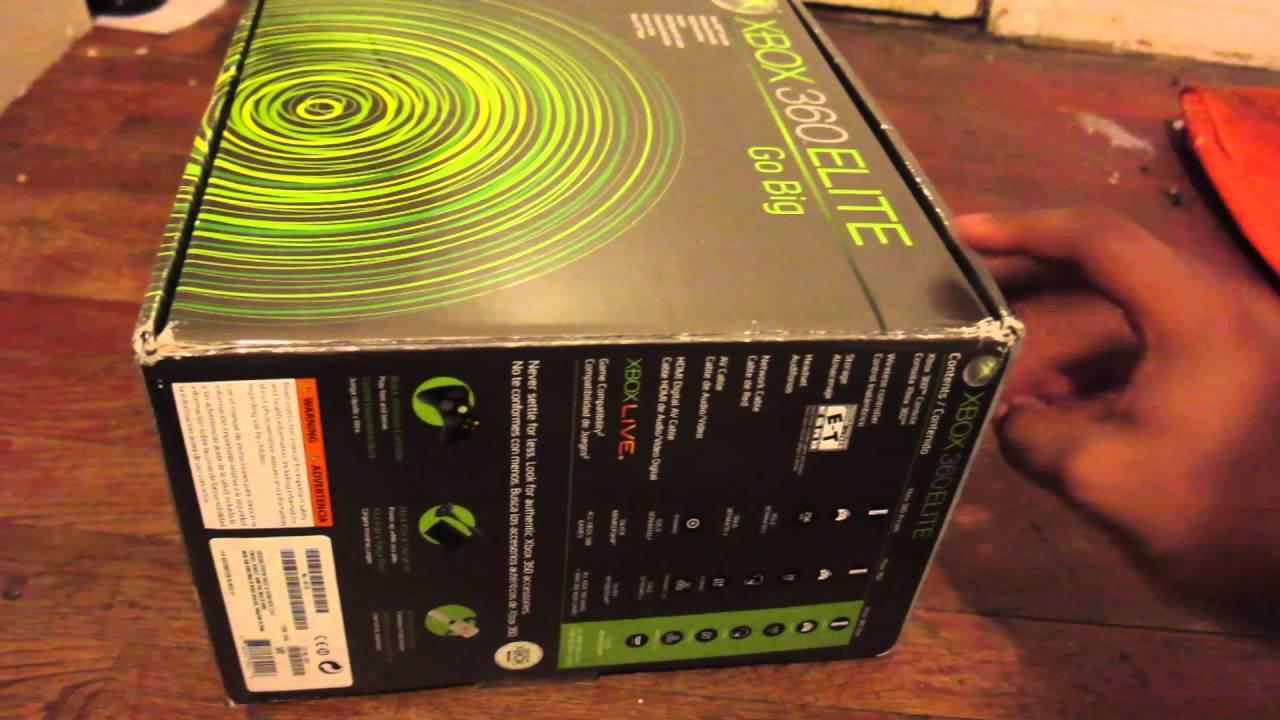 Xbox 360 Elite Unboxing - YouTube