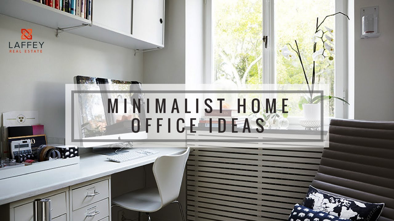 Genial Home Tip: How To Create That Minimalist Feel In Your Home Office