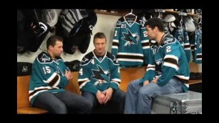 VINTAGE: 2009 San Jose Sharks Holiday Video