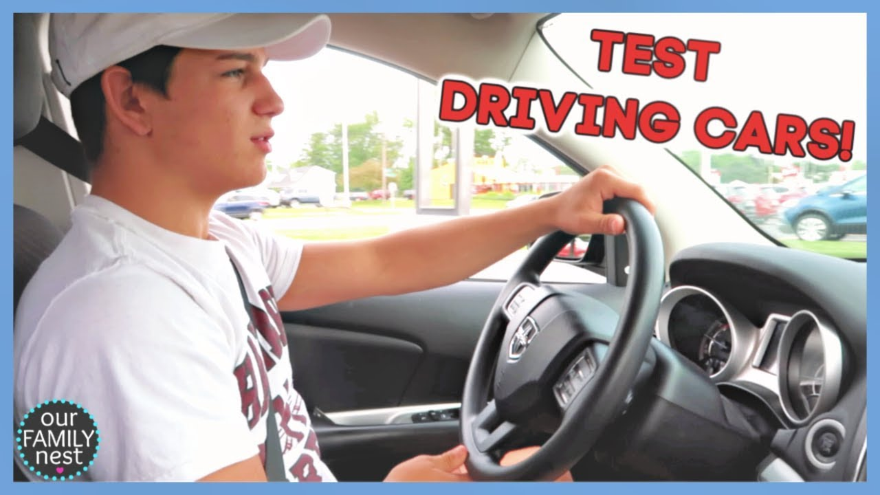 TEST DRIVING A TON OF CARS AT 16 YEARS OLD!