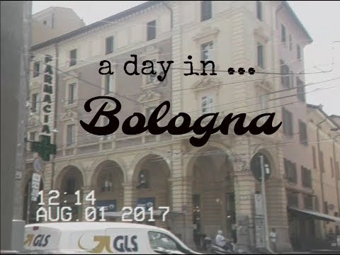 VLOG // Travel With Me To Bologna, Italy