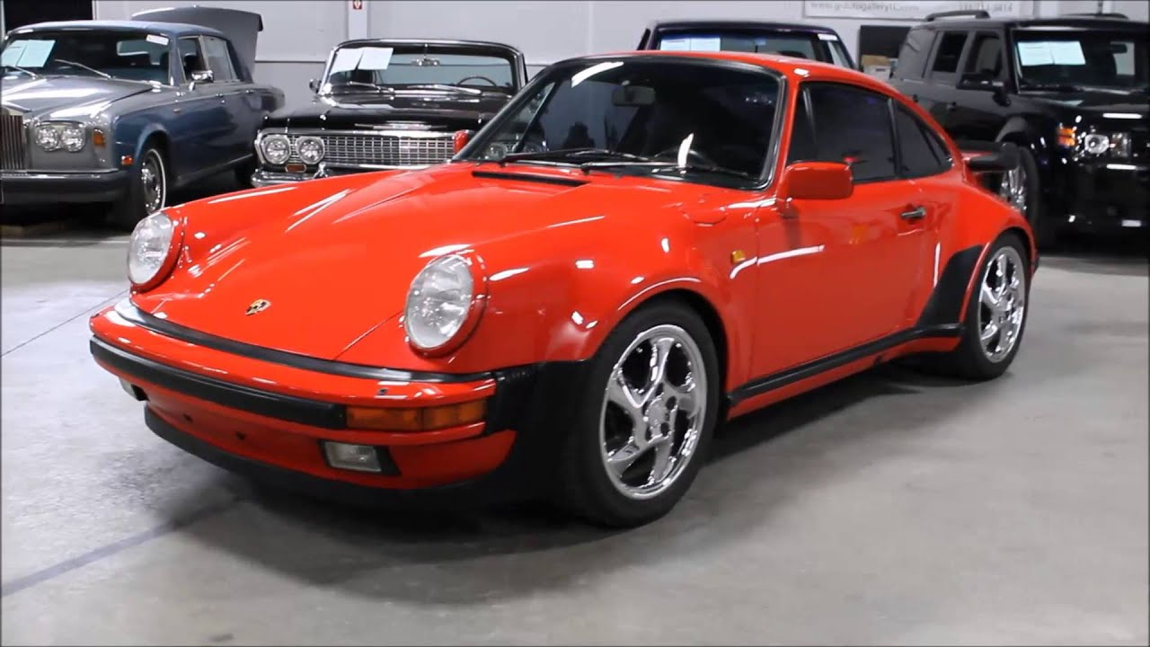 1985 porsche 930 turbo youtube vanachro Image collections