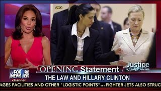 "Judge Jeanine Pirro on Hillary Clinton: ""You can"
