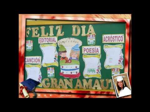 Ambientacion De Aula Por 62 Aniversario De La Ie Nº 3037 Gran Amauta