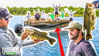 KNOCKOUT Fishing CHALLENGE On MASSIVE BOAT!