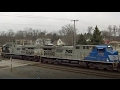Chesterton IN Railcam Railfanning #1 January 2017