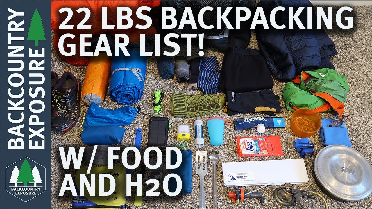 9d4d48e28636 Lightweight Spring Backpacking Gear List - 22 Pounds w  Food and Water