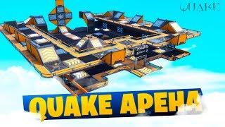 Перенесли карту из игры Quake в Фортнайт: Творческий режим