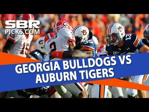 College Football Betting | Georgia Bulldogs vs Auburn Tigers Free Picks & Preview