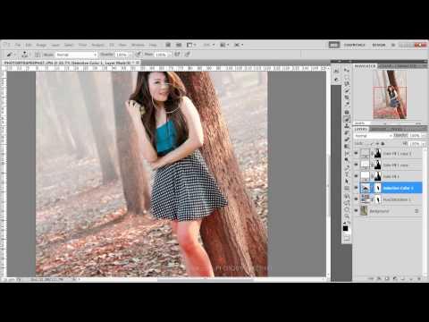 สอน Photoshop : การใส่หมอกและแต่งภาพแนวเหนือจริง - by Sync