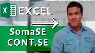 EXCEL AVANÇADO → SOMASE, SOMASES, CONT.SE, CONT.NUM, CONT.VALORES, CONTAR.VAZIO