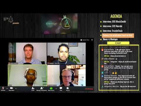 Thomas Cox and Moti discuss Arbitration - from Episode 11 of EOSRad.io #crypto #blockchain #eos
