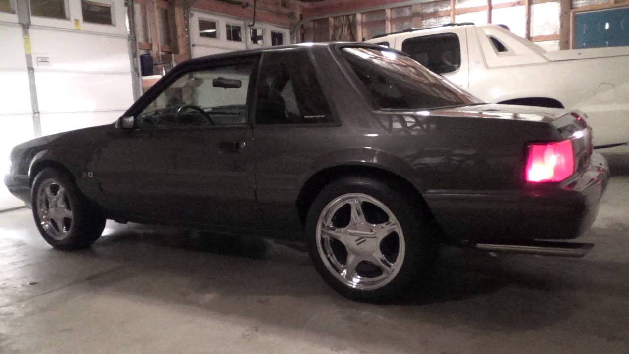 my 1987 ford mustang lx coupe youtube. Black Bedroom Furniture Sets. Home Design Ideas