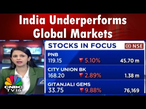 India Underperforms Global Markets | Nifty Trades Below 10,400 | CNBC TV18