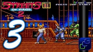 Streets Of Rage 2 Walkthrough - Part 3 - AXEL Stage 3