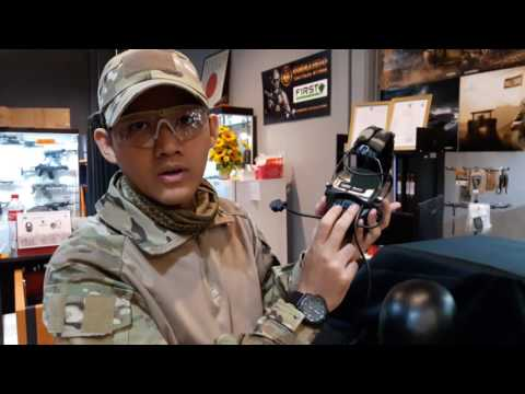 review 11 ZSordin Protector Headset (Woodland Camo) BY commando tactical store