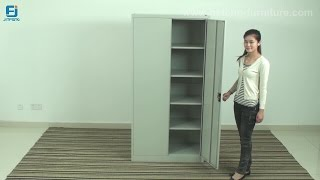 How To Install A Metal Storage Cabinet (jf-c001)