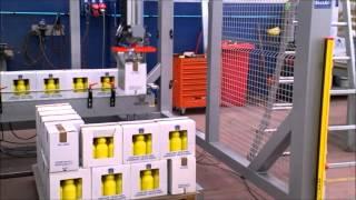 SistAl-Tech Pallettizzatore cartesiano