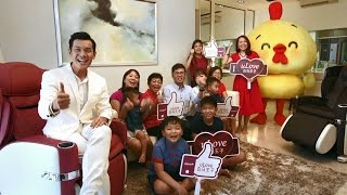 OSIM uLove $888 Lunar New Year Giveaway with Shaun Chen!