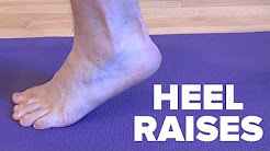 Heel Raises - Ankle Rehabilitation Exercise For Recovering From Ankle Injury